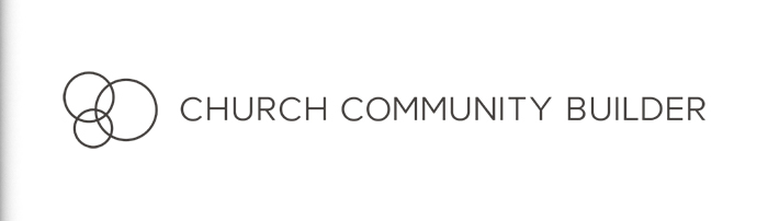 Header - Login - Church Community Builder