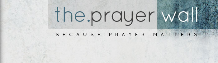 HEADER : Care & Serve : The Prayer Wall